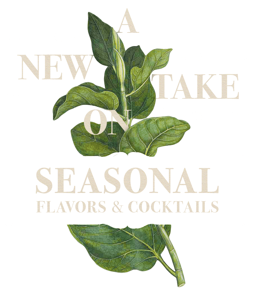 A new take on seasonal flavors & cocktails